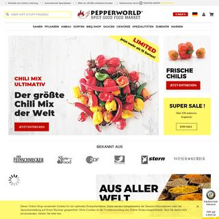 Chilis kaufen im Chili Shop