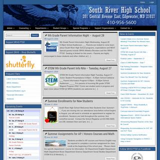 ArchiveBay.com - southriverhigh.org - South River High School – Home of the Seahawks