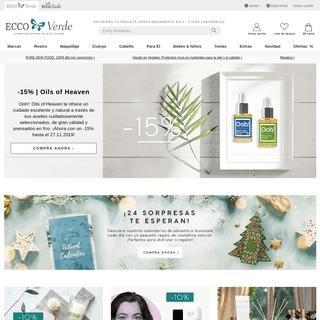 Tu tienda de cosmética natural - Ecco Verde Tienda Online