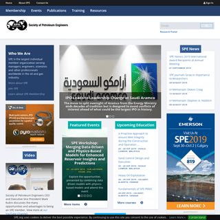 Society of Petroleum Engineers (SPE)