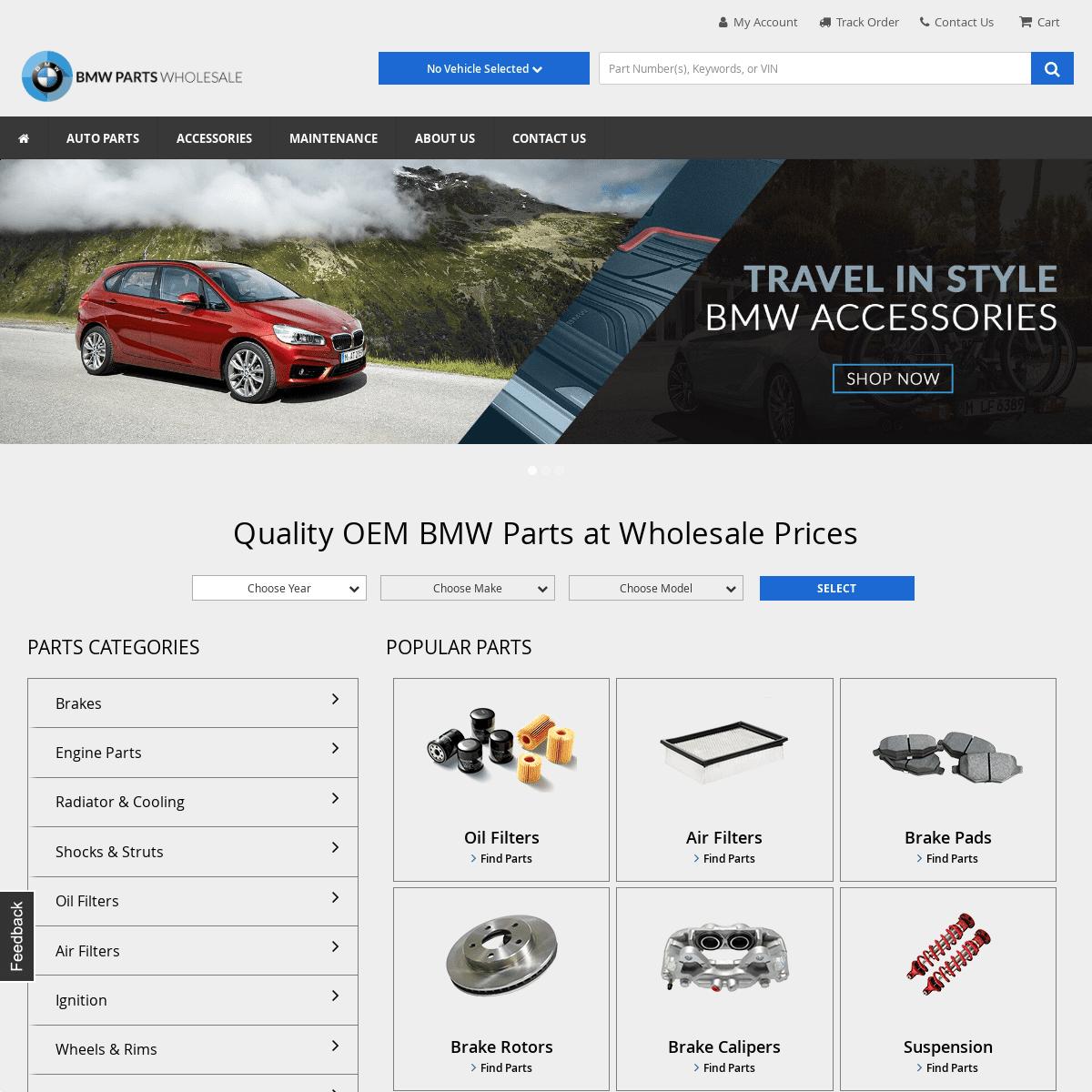 ArchiveBay.com - bmwpartswholesale.com - OEM BMW Parts and Accessories - Wholesale BMW