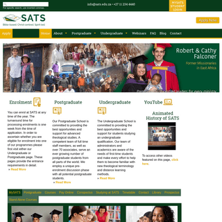 ArchiveBay.com - sats.edu.za - South African Theological Seminary - Bible College - Study
