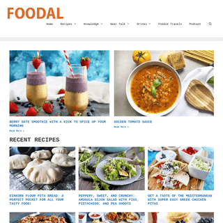Welcome to Foodal- Get the Best Recipes and Cooking Advice on the Net!