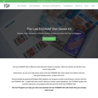 The low Fodmap Diet Snack & Recipe Box – The Gut Program