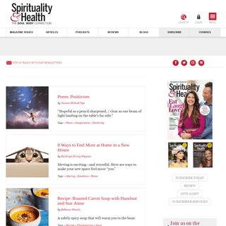 Home - Spirituality & Health