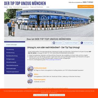 Umzug München - günstig & express Umzüge vom Profi