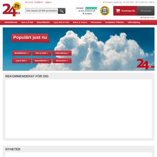 Mobiltillbehör, Datortillbehör, Batterier till lägsta pris - 24.se
