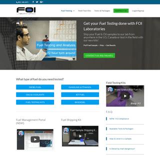 ArchiveBay.com - foilab.com - FOI Laboratories - Fuel Testing and Analysis