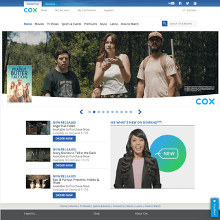 TV Shows and Movies On Demand - Cox Communications