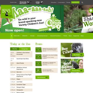 Adelaide Zoo - Australian Panda Home