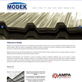 Modek Roof Sheeting – The Largest Roof Sheeting Manufacturer in Africa