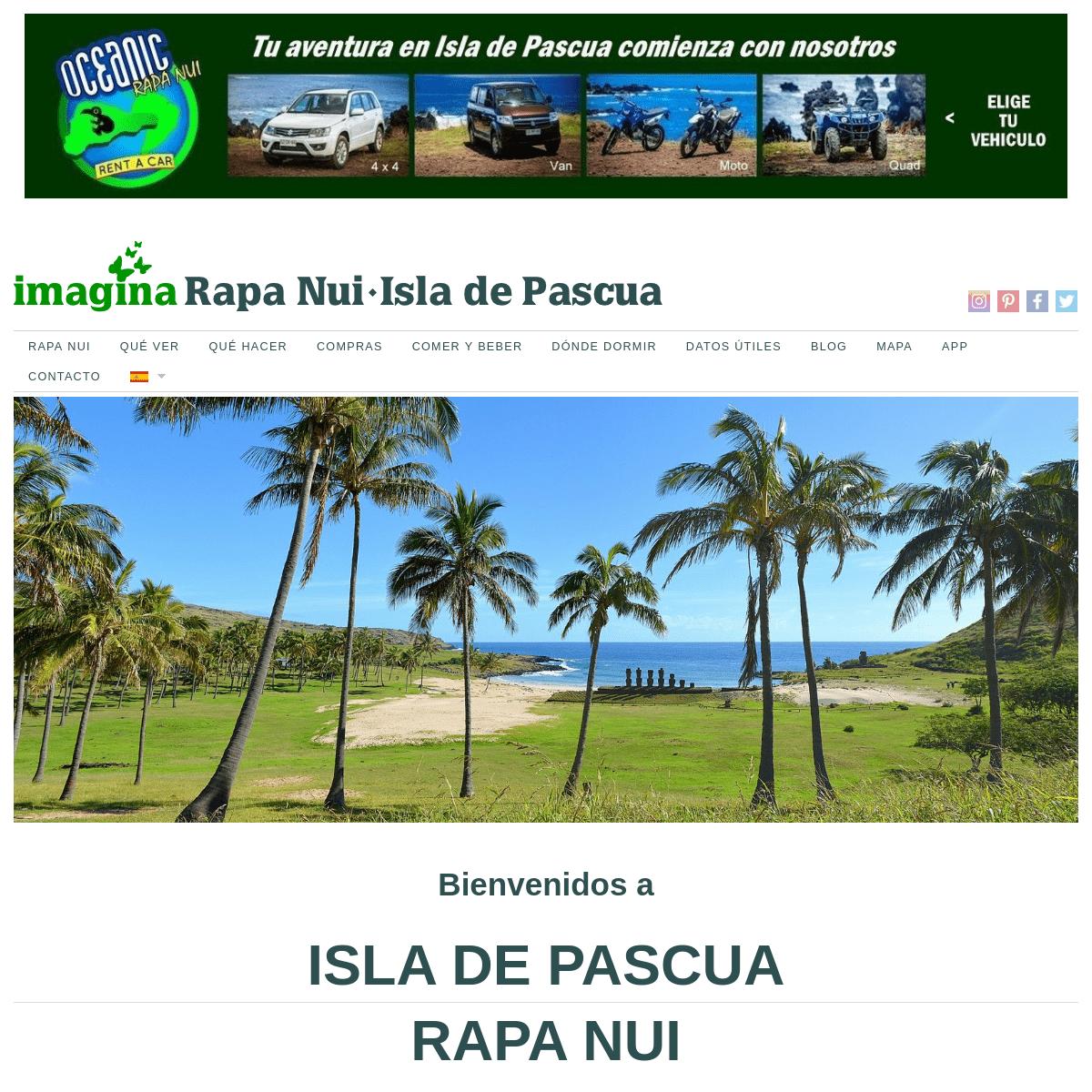 ISLA DE PASCUA - RAPA NUI - Guía completa de una isla mágica