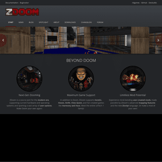 ArchiveBay.com - zdoom.org - ZDoom - Start