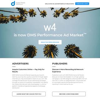 W4 is now Digital Media Solutions®