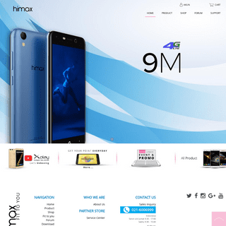 Fit to you - Indonesia's pioneer local smartphone - Himax Indonesia