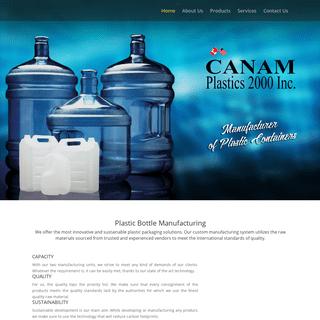 Canam Plastics - Manufacturer of Plastic Containers