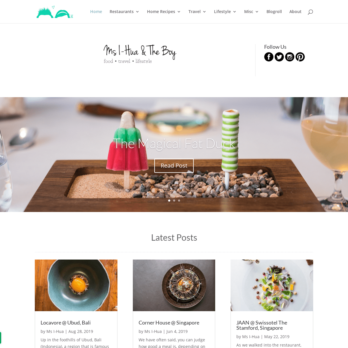 Ms I-Hua & The Boy - A Food, Travel and Lifestyle blog based in Melbourne