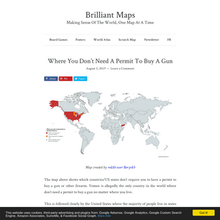 Brilliant Maps – Making Sense Of The World, One Map At A Time