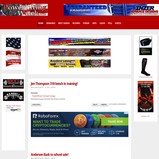 Powerlifting Watch - Join the Powerlifting Ranks!