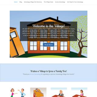 ArchiveBay.com - genealogyvillage.com - Genealogy Village - It takes a village to grow a family tree!