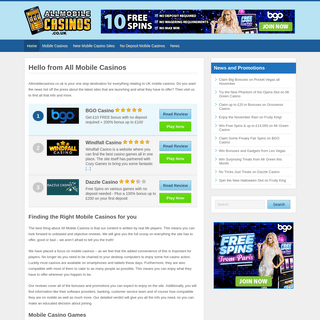 Mobile Casinos - Best Online Casinos for Mobile and Tablets