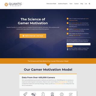 ArchiveBay.com - quanticfoundry.com - Quantic Foundry - The Science of Gamer Motivation