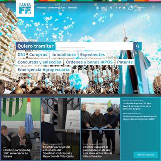 Gobierno de Santa Fe - Portal