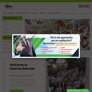 Essensa Naturale Inc. -