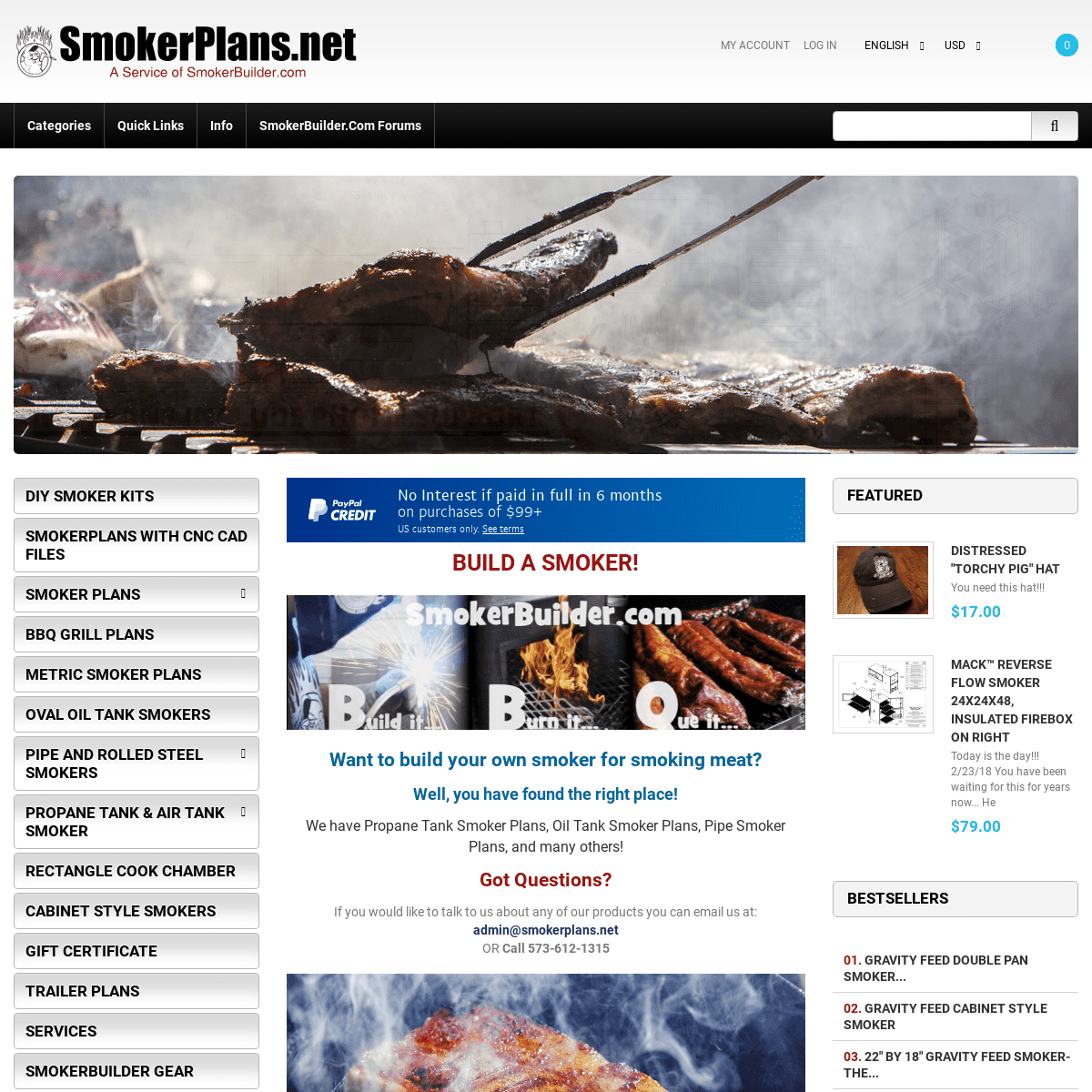 ArchiveBay.com - smokerplans.net - Smoker Plans, Build a Smoker