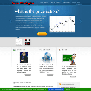 Forex Strategico - The First Site for Online Forex Trading, Price Action, Forex Strategy