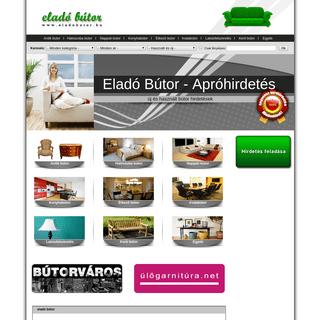 ArchiveBay.com - eladobutor.hu - Eladó használt és új bútor apróhirdetés - Fõoldal