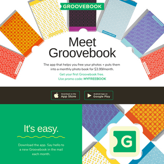ArchiveBay.com - groovebook.com - Create monthly photo albums + photo books on your phone - Groovebook