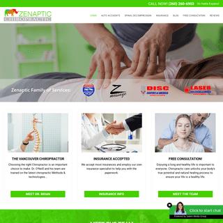 Chiropractor Vancouver Wa - Zenaptic Chiropractic