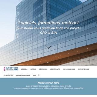 EUROSTUDIO votre partenaire BIM, logicels et matériels pour l'AEC