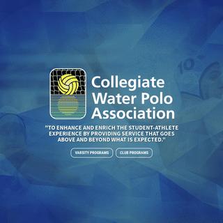Landing - Collegiate Water Polo Association