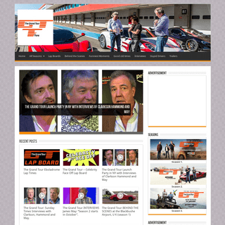 The Grand Tour Fans - Fan Site for The Grand Tour and former Top Gear Hosts - Jeremy Clarkson, Richard Hammond and James May.