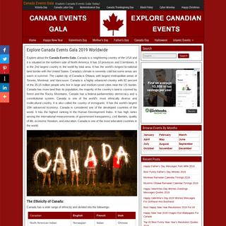 Explore Canada Events Gala 2019 Worldwide