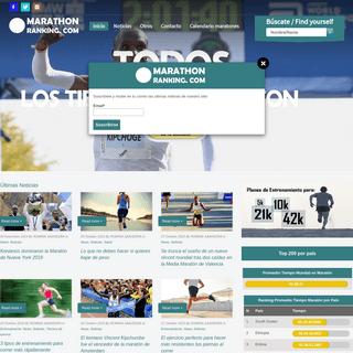 ArchiveBay.com - marathonranking.com - Marathon Ranking – Información sobre todas las maratones del mundo