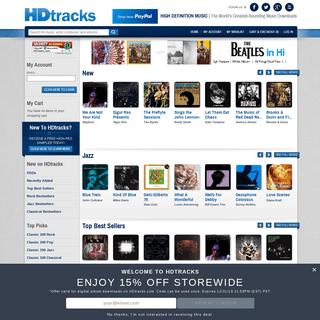 ArchiveBay.com - hdtracks.com - Homepage - HDtracks - The World's Greatest-Sounding Music Downloads