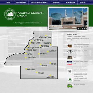 ArchiveBay.com - tazewell.com - Tazewell County, IL - Official Website