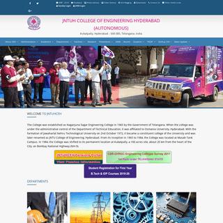 JNTUH College of Engineering Hyderabad (Autonomous).