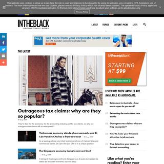 ArchiveBay.com - intheblack.com - Home - INTHEBLACK