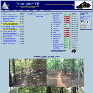 ArchiveBay.com - trianglemtb.com - TriangleMTB.com, your source for mountain biking in Raleigh-Durham-Chapel Hill