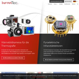 ArchiveBay.com - infratec.de - Spezialist für Thermografie und Infrarotsensorik InfraTec