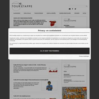ArchiveBay.com - touretappe.nl - Wielrennen- parcoursen, deelnemers en favorieten - Touretappe.nl