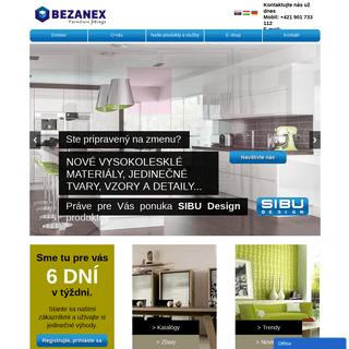 ArchiveBay.com - bezanex.sk - BEZANEX - nábytkové kovanie