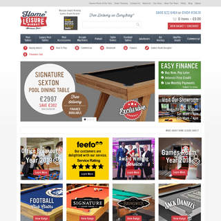 ArchiveBay.com - homeleisuredirect.com - Home Leisure Direct - UK's Leading Games Room Retailer