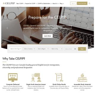 CELPIP – The Canadian English Language Proficiency Index Program