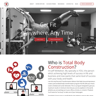 ArchiveBay.com - totalbodyconstruction.com - Get Fit Anywhere, Any Time - Total Body Construction - Virtual Trainer