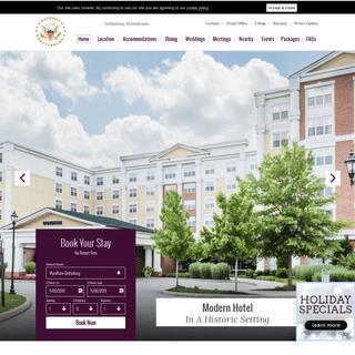Gettysburg, PA Hotels - Wyndham Gettysburg Hotel